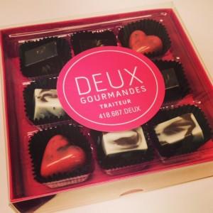 chocolats maison pour la St-Valentin