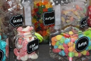 Bar à bonbon