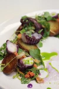 salade de pieuvre Deux Gourmandes