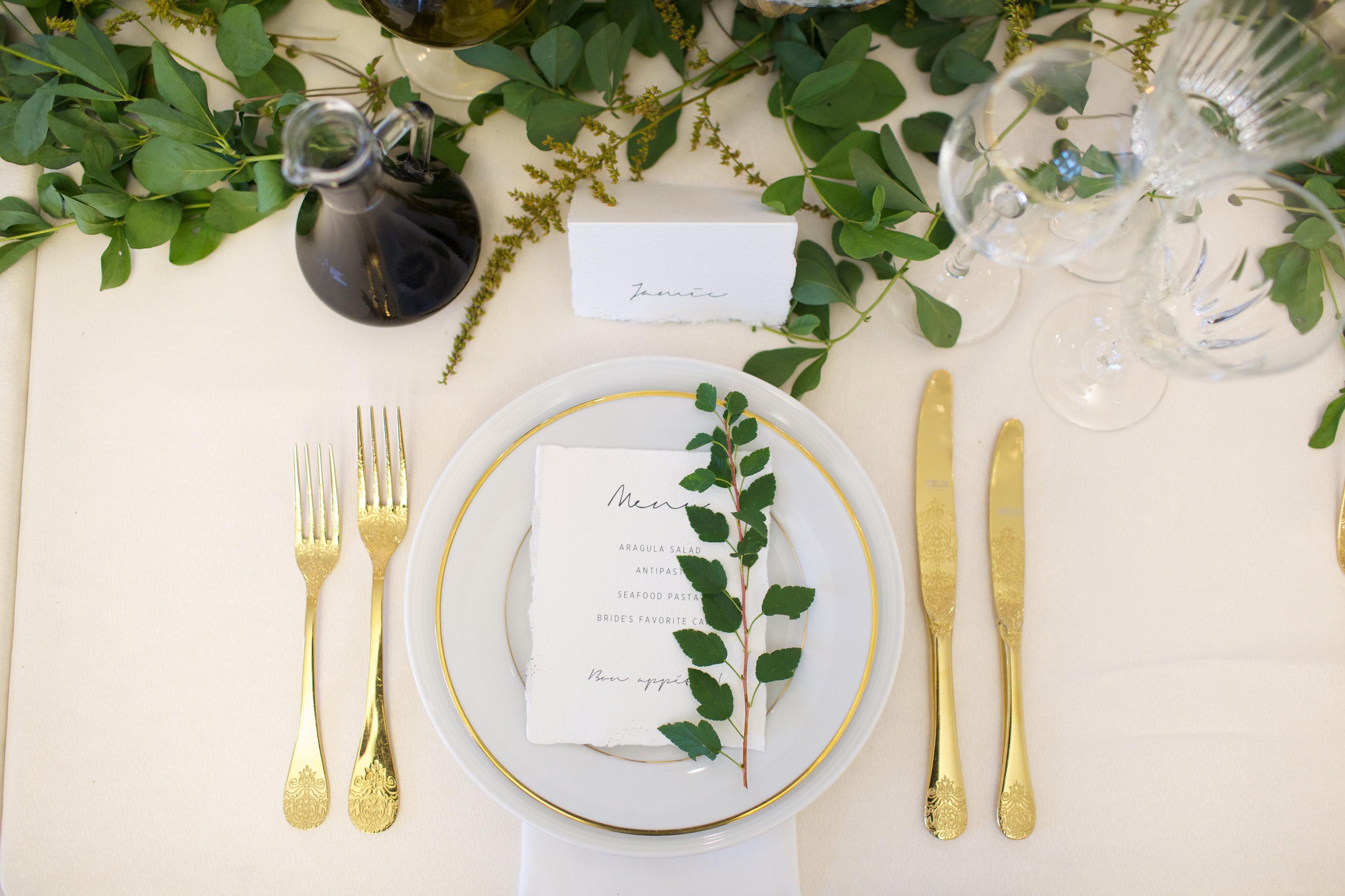 L'art de la table par Deux Gourmandes